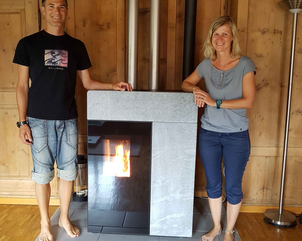 florin rika domo multiair holzofen pelletofen heizung kochherd ofenwelten k blis. Black Bedroom Furniture Sets. Home Design Ideas